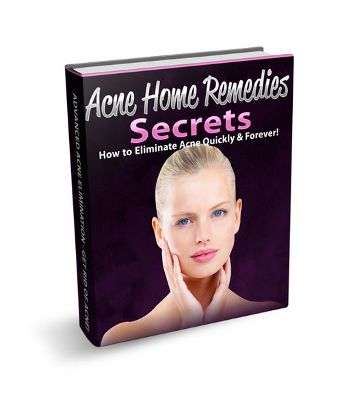 Product picture Acne Home Remedies Secrets