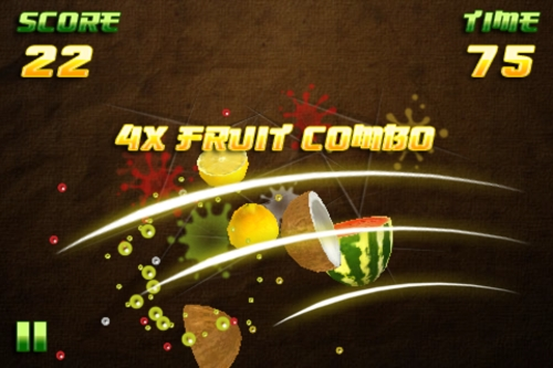 Product picture Fruit Ninja Clone Source Code for iphone IOS
