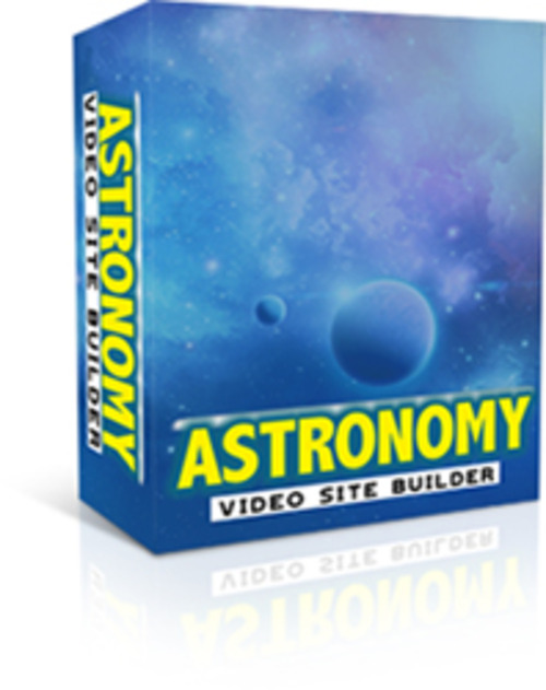 Product picture Get your own moneymaking  Astronomy Video site
