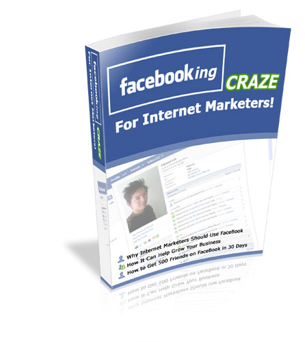 Thumbnail FaceBooking Craze for Internet Marketers