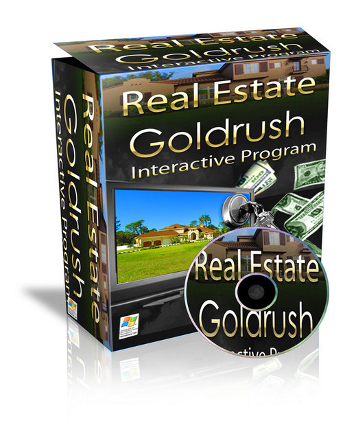 Product picture Real Estate Goldruch Interactive program