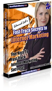 Thumbnail fast track secrets internet marketing