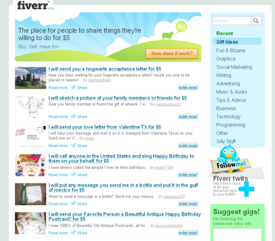 Thumbnail  Fiverr Clone Script- Start Your Own Fiverr now