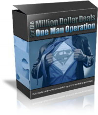 Thumbnail Millions Dollar Deals One man Operation