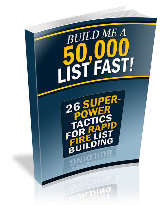 Thumbnail Build Me a 50000 List Fast