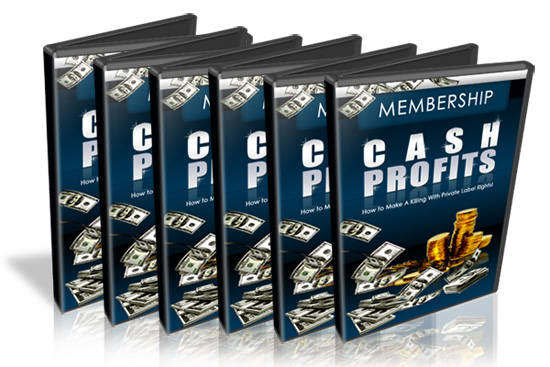 Product picture ***Membership CashProfits ***