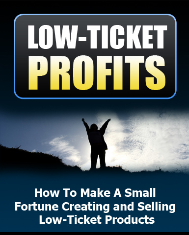 Thumbnail Low Ticket Profits