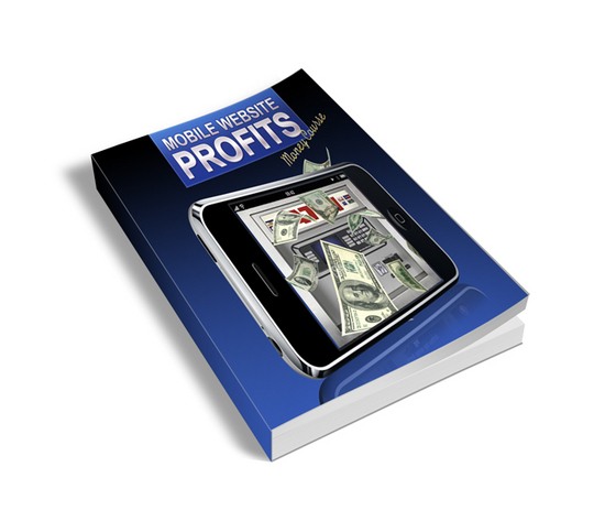Product picture **New** Mobile Website Profits