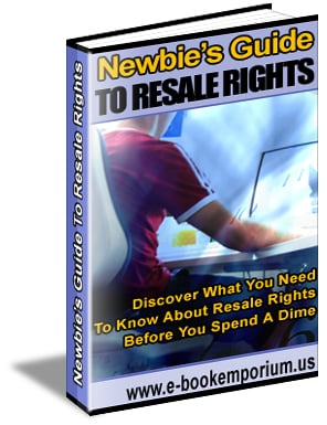 Thumbnail Newbies Guide To Resale Rights