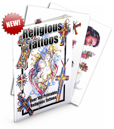 Product picture ReligiousTattoos | Over 100 Printable Religious Tattoos